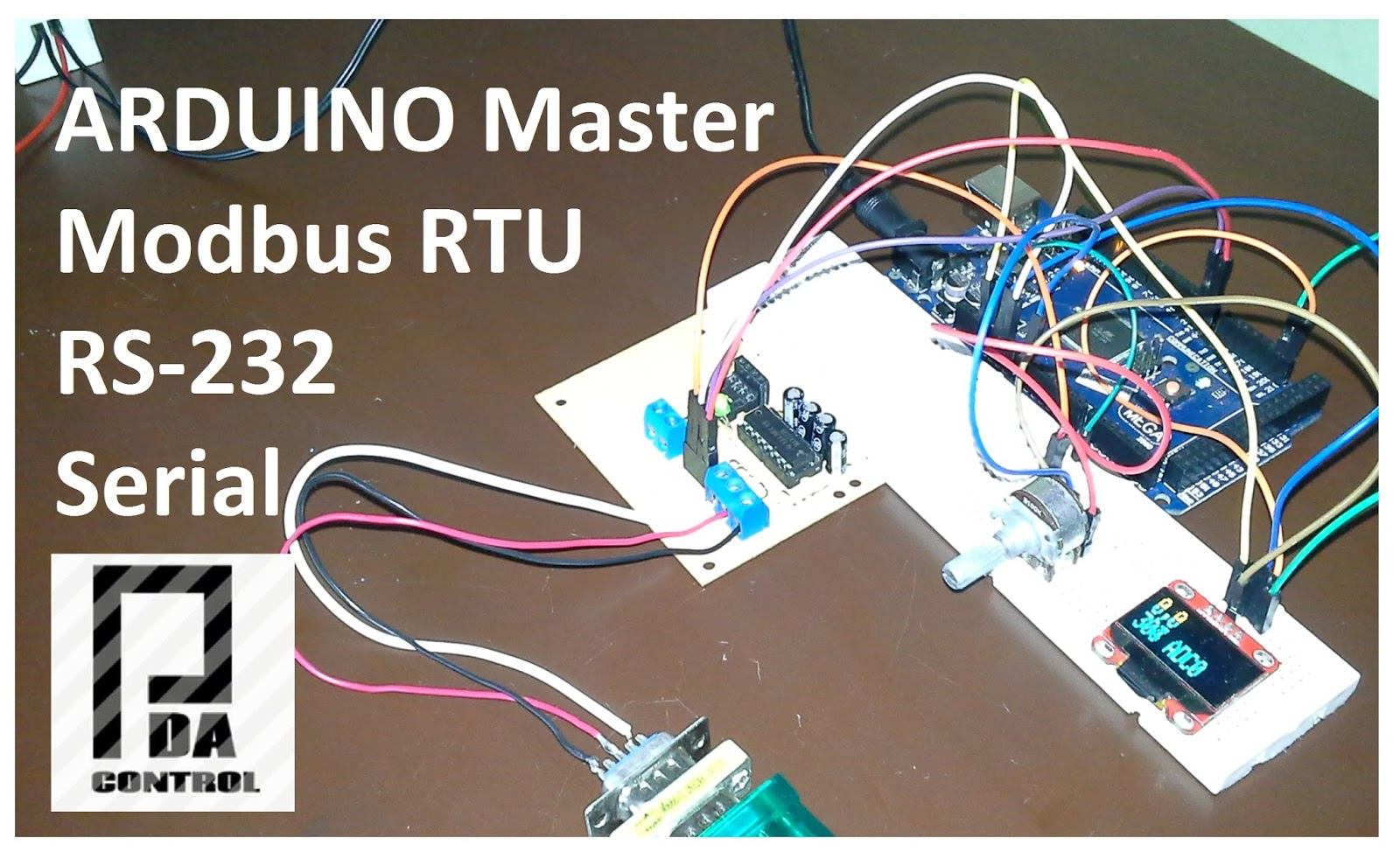 Pruebas Modbus RTU Maestro con Arduino  via RS232  Parte 2
