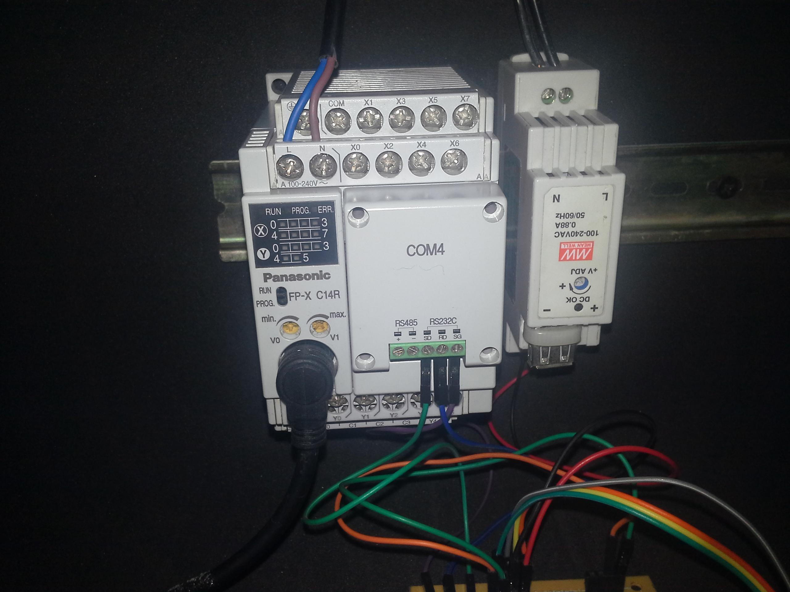 PLC Panasonic FPX C14 R