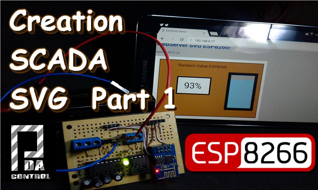 Creacion de Scada SVG para WebServer en ESP8266