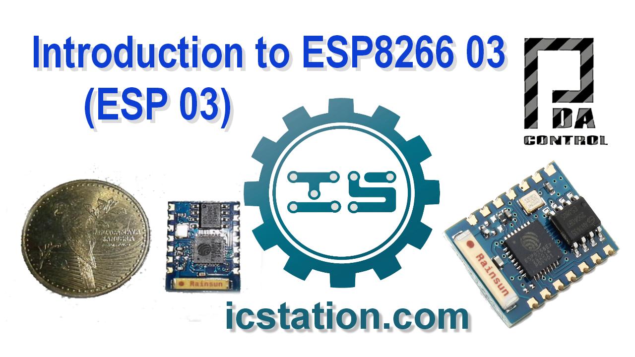 Nuevo ESP8266 03 ( ESP 03 )