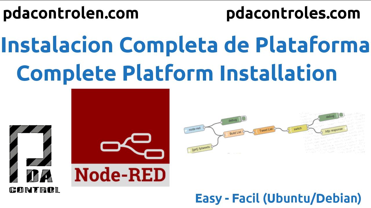 Instalacion de Plataforma Node-Red