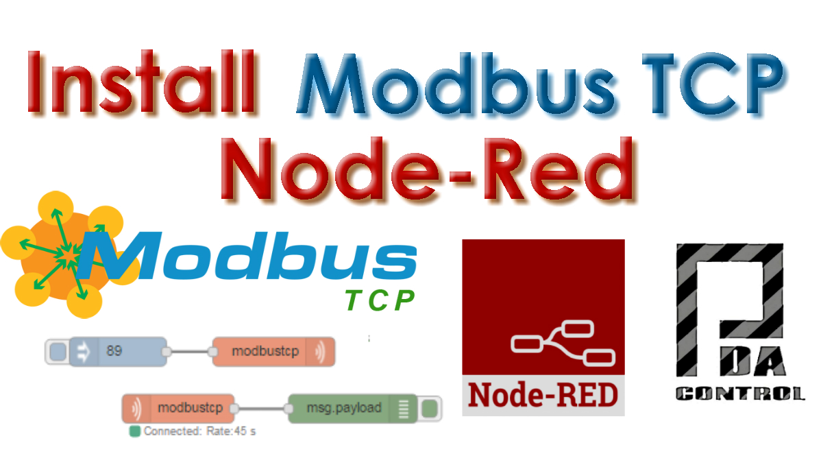 Instalacion nodo Modbus TCP en Node red