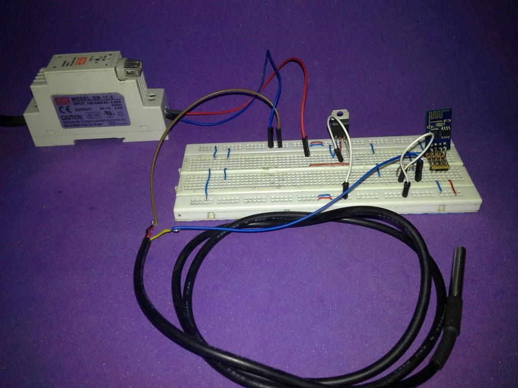 ESP8266 PDAControl Arduino Node-RED