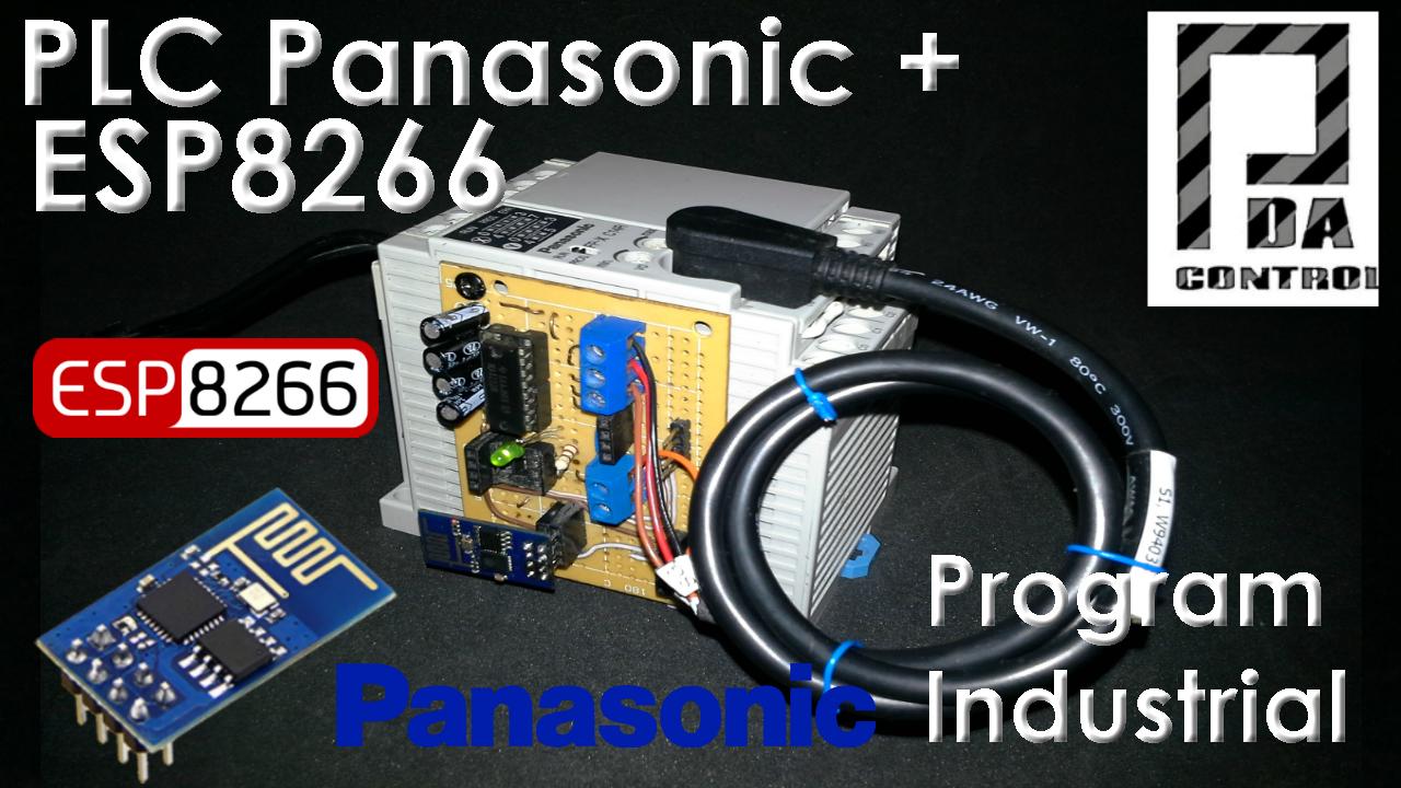 Programando PLC Panasonic Via WLAN con ESP8266