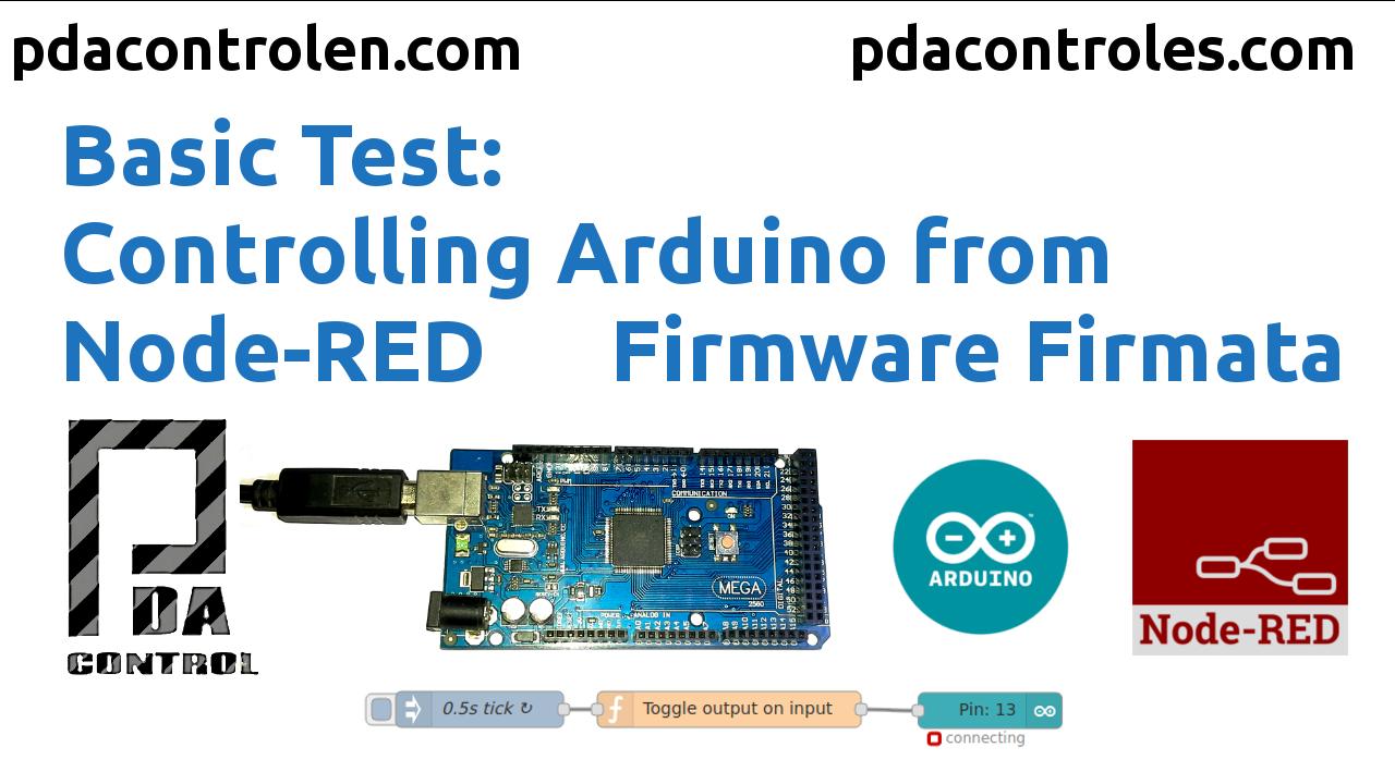 Controlar Arduino desde Node-RED con Firmware Firmata