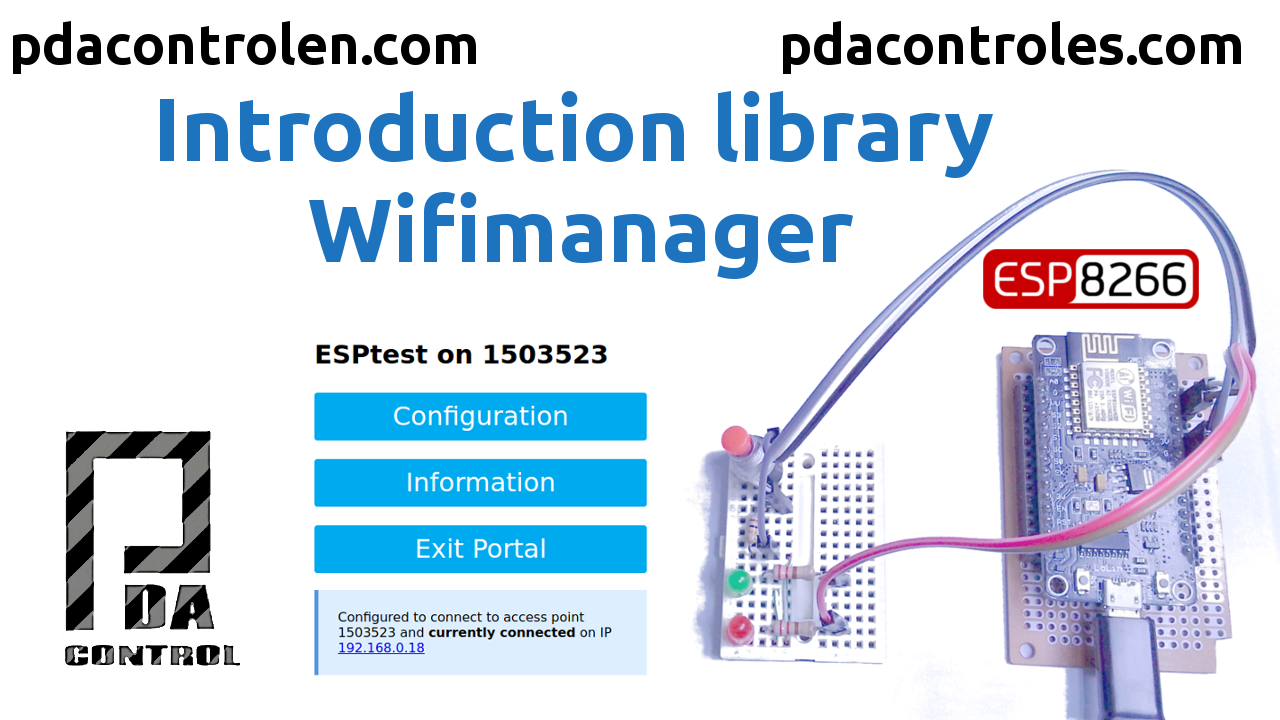 Introduccion libreria WifiManager - PDAControl