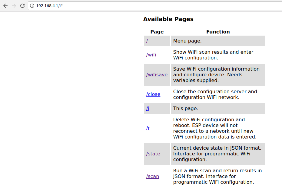 Introduction library WifiManager - PDAControl