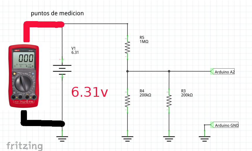 Measuring DC Voltage with Arduino and Node-RED - PDAControl