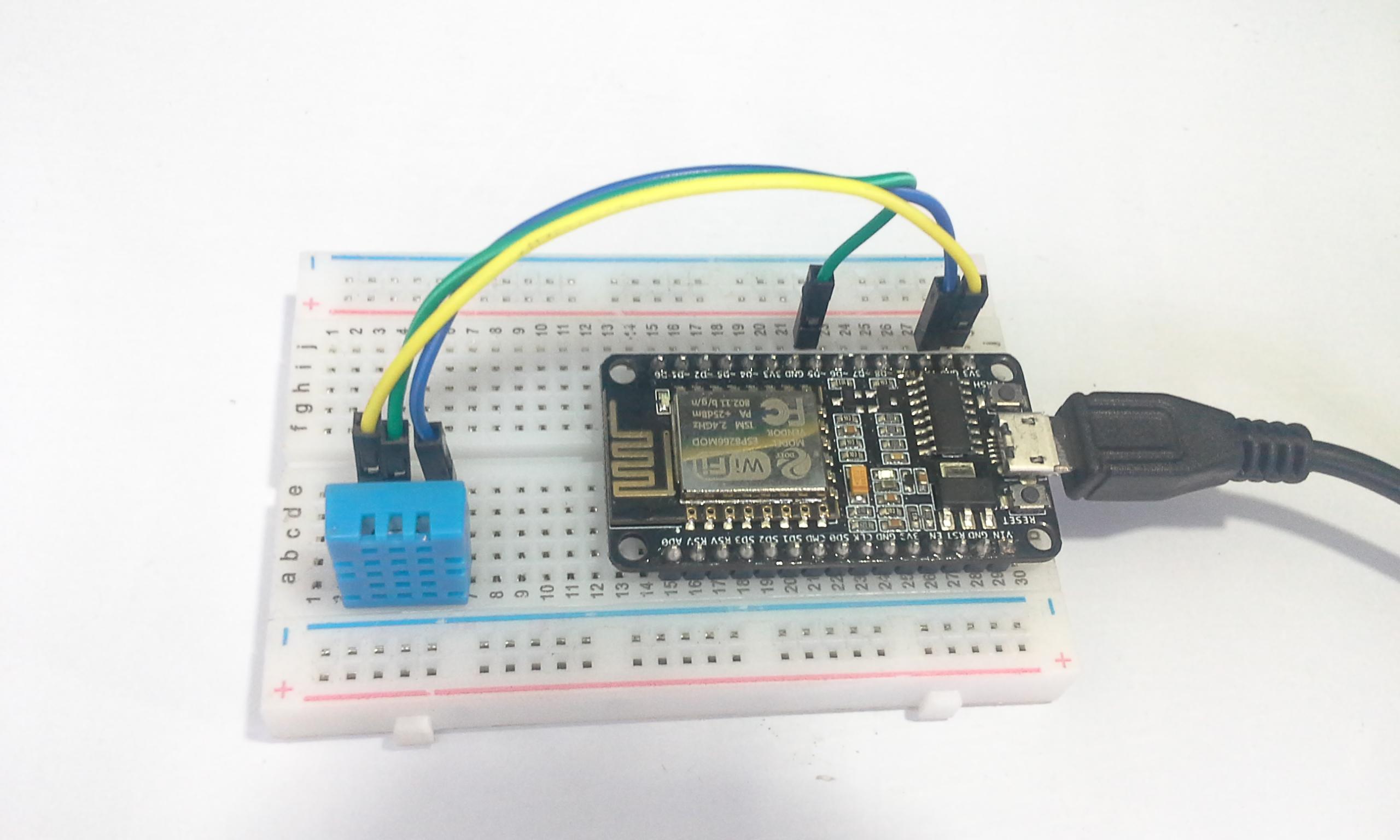 Tutorial Platform IoT Ubidots & ESP8266 + Sensor DHT11 - PDAControl