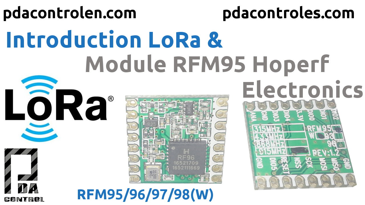 Introduccion LoRa &  Modulo RFM95 Hoperf