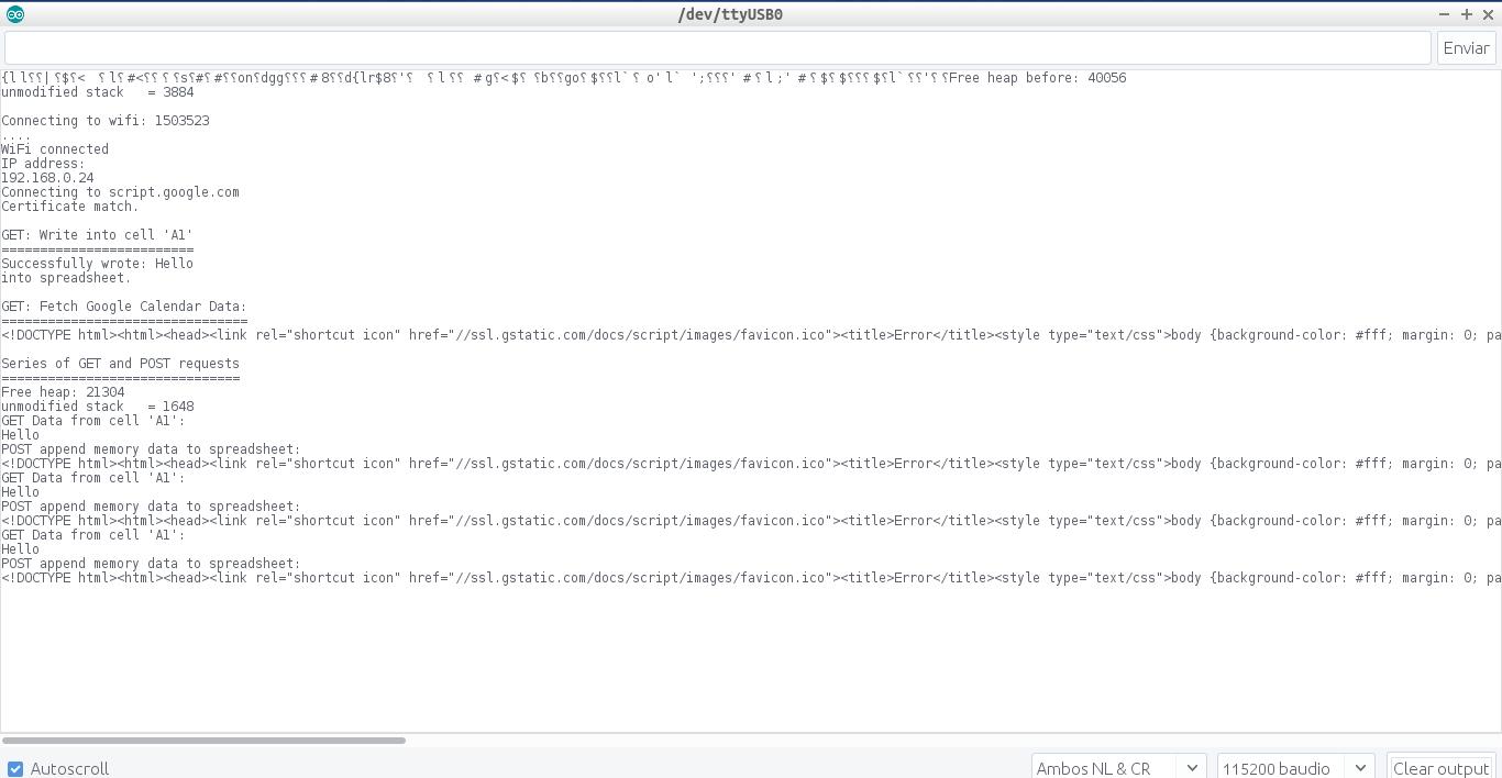 Update HTTPS Redirect Version 2 0 ESP8266 & Google