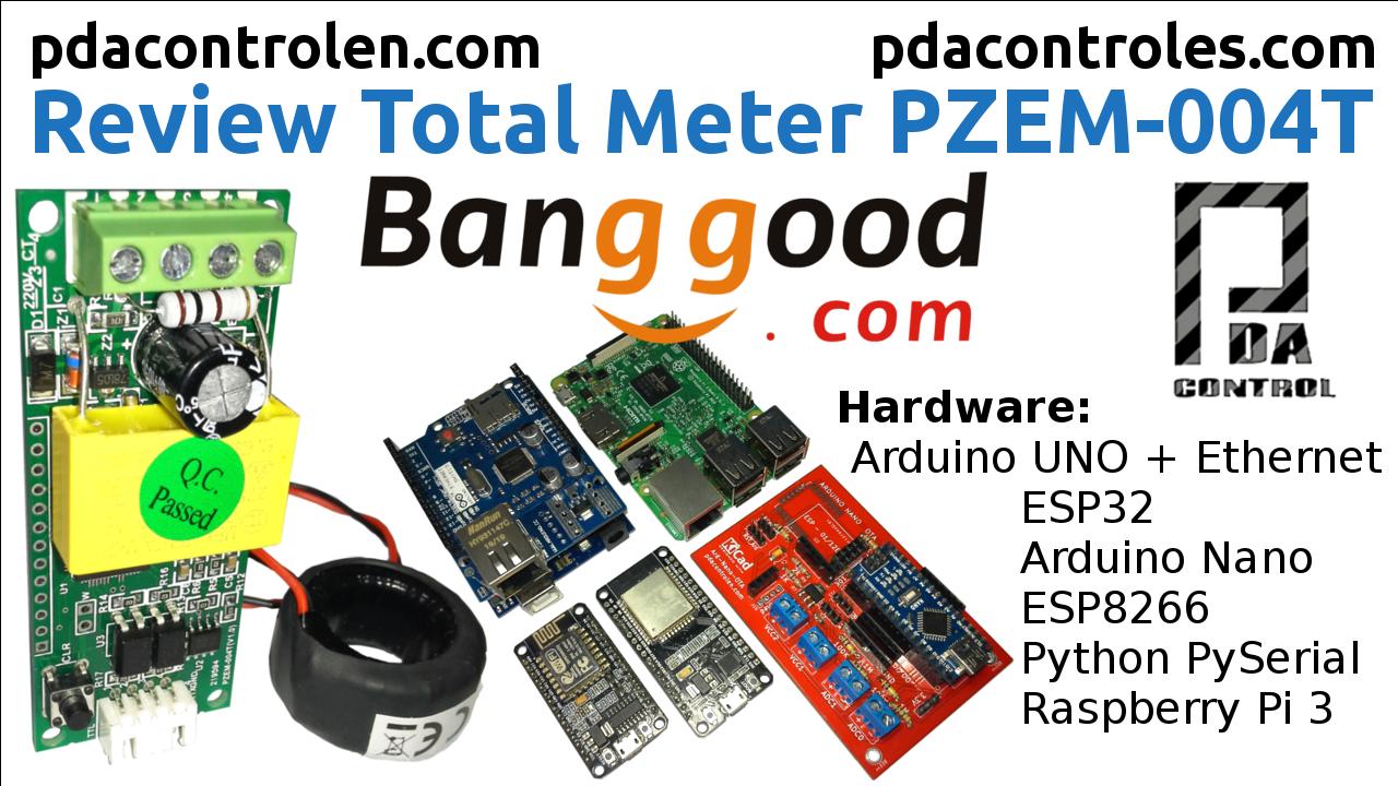 Medidor PZEM-004T con Arduino ESP32 ESP8266 Python & Raspberry Pi