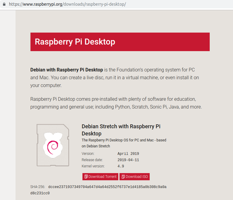 Raspberry pi 4 download iso