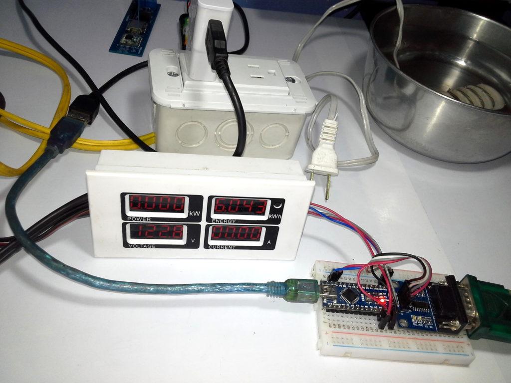 Meter PZEM-004 + Arduino Nano Modbus RTU (RS232) & Platform