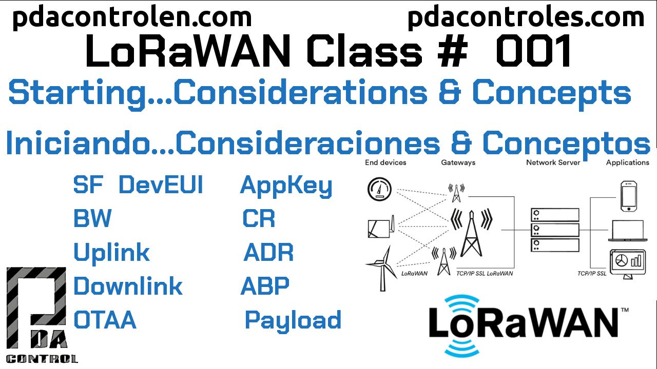 Iniciando, consideraciones y conceptos LoRaWAN #1