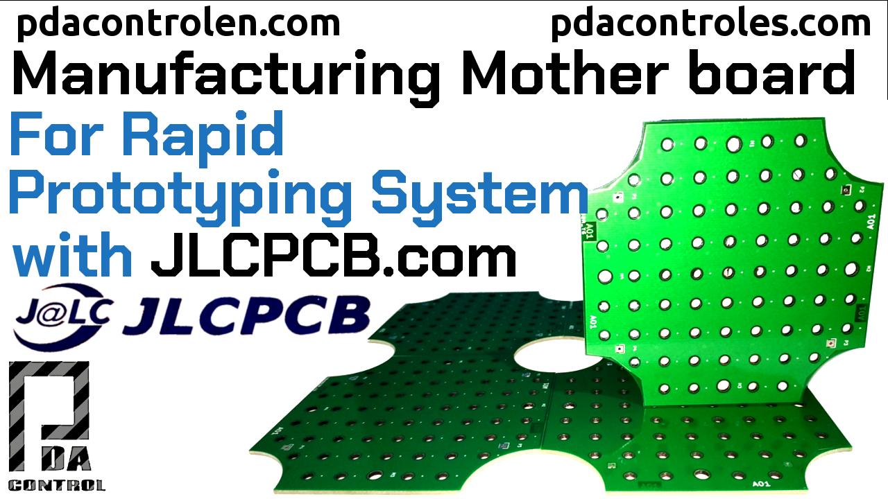 Fabricando Placa base, Prototipado Rapido con JLCPCB.com