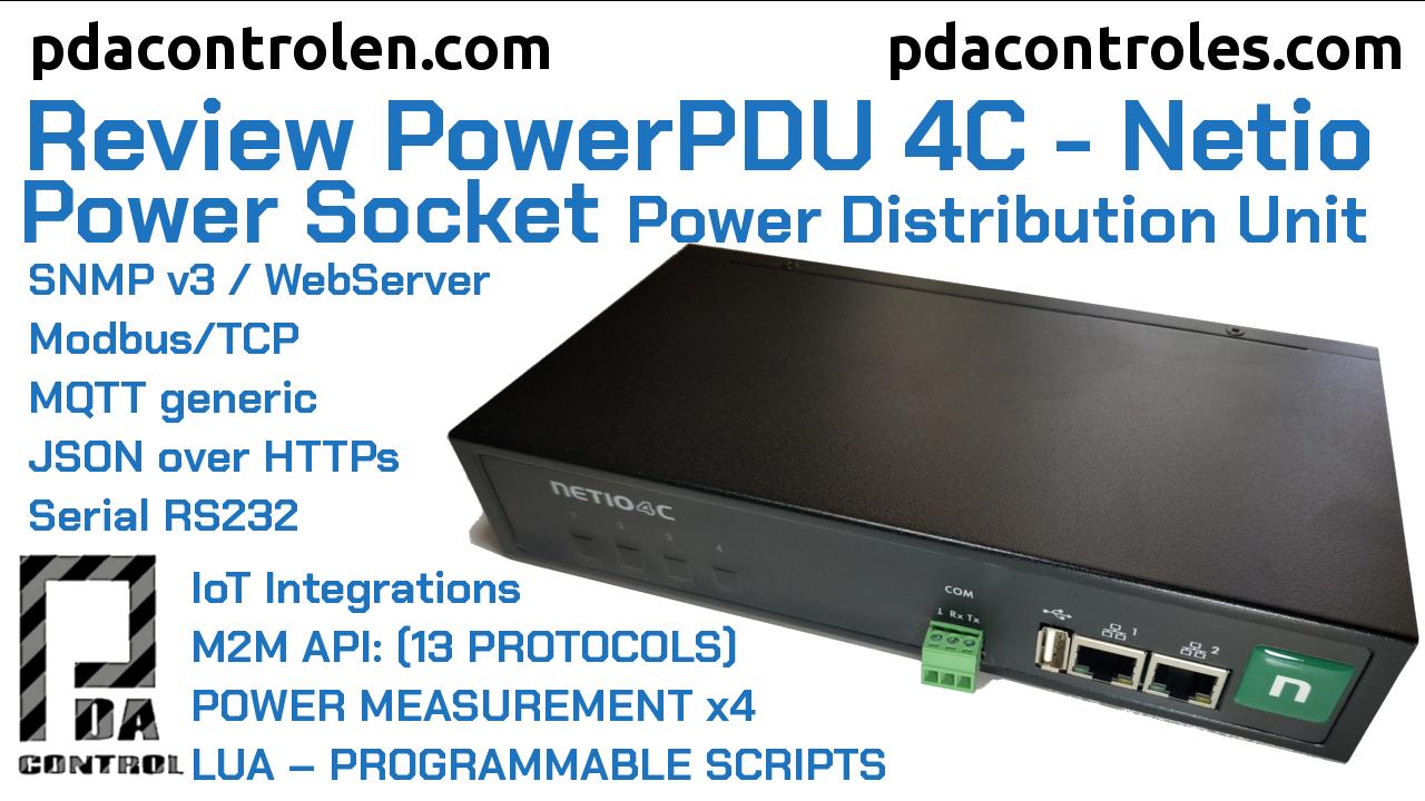 Revisión PowerPDU 4C (Power Socket) de Netio