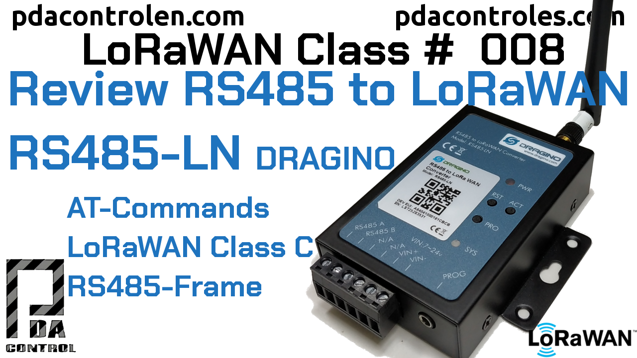 Revisión Convertidor RS485 to LoRaWAN RS485-LN de Dragino LoRaWAN #8