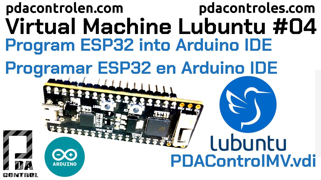 Programar ESP32 en Arduino IDE  PDAControlMV #4